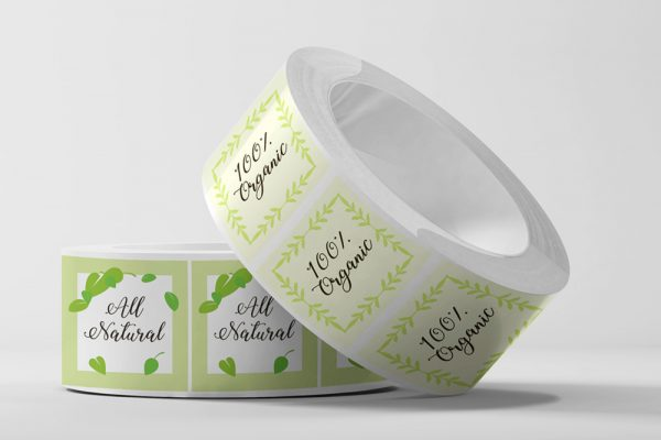 Polyester Roll Labels - Square